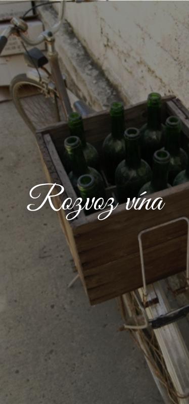 Rozvoz vína wine institute
