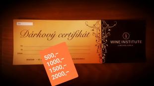 Dárkový certifikát 1500 Kč
